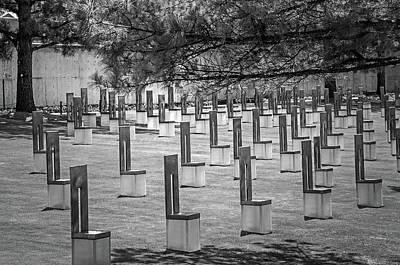 Photograph - Oklahoma City National Memorial 3 by Susan McMenamin