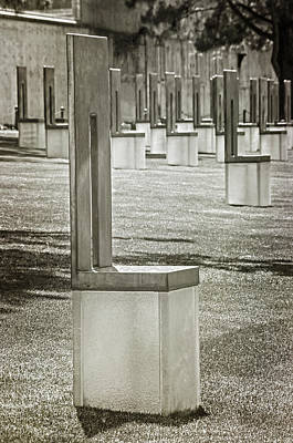 Photograph - Oklahoma City National Memorial 6 by Susan McMenamin