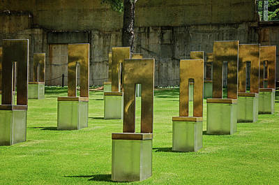 Photograph - Oklahoma City National Memorial 7 by Susan McMenamin