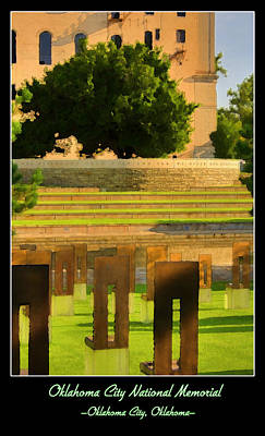 Photograph - Oklahoma City National Memorial by Ricky Barnard