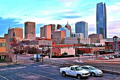 Photograph - Oklahoma City Scenic View by Frozen in Time Fine Art Photography