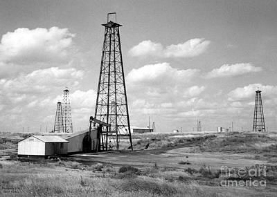Oklahoma Crude Art Print by Larry Keahey