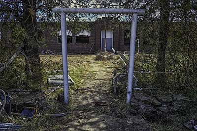 Photograph - Oklahoma Forgotten School by David Longstreath