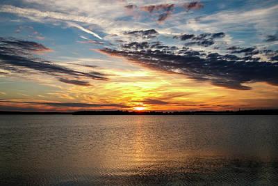 Photograph - Oklahoma Lake by Doug Long