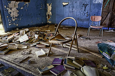 Photograph - Oklahoma Lost School by David Longstreath