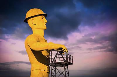 Photograph - Oklahoma Proud - The Tulsa Golden Driller by Gregory Ballos