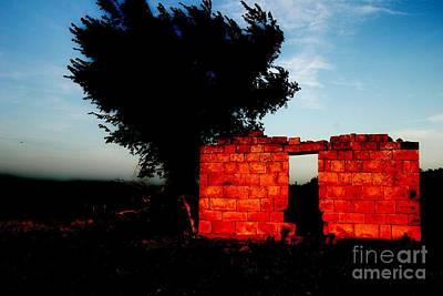 Photograph - Oklahoma Ruins by Patty Uldra Johnson