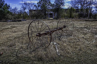 Photograph - Oklahoma Rural Landscape 1 by David Longstreath