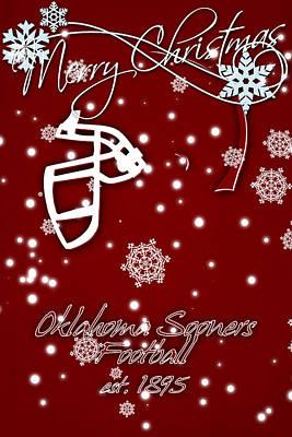 Oklahoma Photograph - Oklahoma Sooners Christmas Card by Joe Hamilton