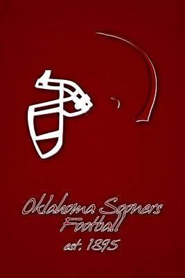 Oklahoma State University Photograph - Oklahoma Sooners Helmet by Joe Hamilton