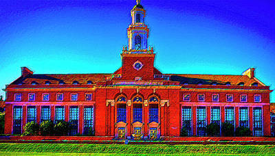Mixed Media - Oklahoma State University by DJ Fessenden