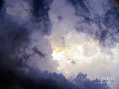 Photograph - Oklahoma Storm Clouds 13 by Luke Galutia