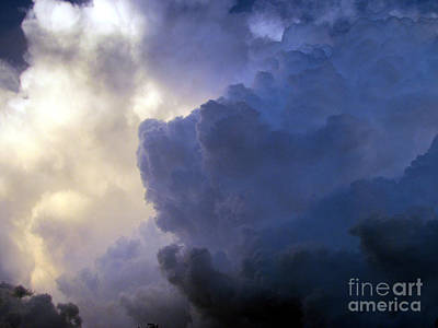 Photograph - Oklahoma Storm Clouds 2 by Luke Galutia