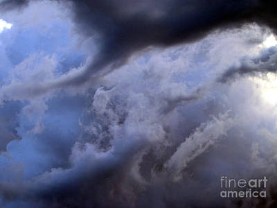 Photograph - Oklahoma Storm Clouds 20 by Luke Galutia
