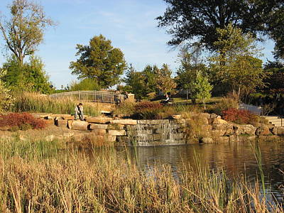 Photograph - Oklahoma's Central Park by Roberta Martin
