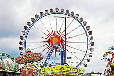 Photograph - Oktoberfest 2010 Munich by Robert Meyers-Lussier
