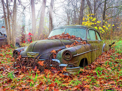 Photograph - Ol' 49 Chevy Coupe by Timothy Harris