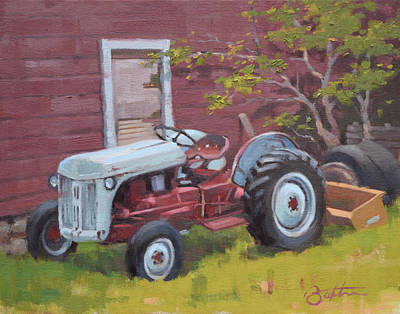 Painting - Ol' Betsy by Todd Baxter