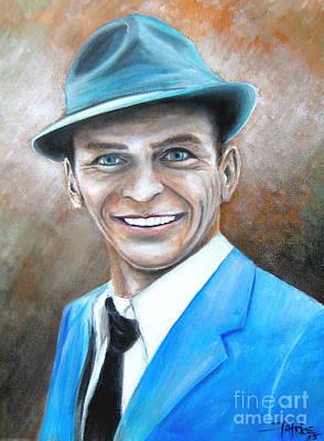 Ol Blue Eyes Frank Sinatra Original by Patrice Torrillo