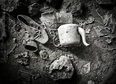 Photograph - Ol' Brown Shoe by Wayne Sherriff