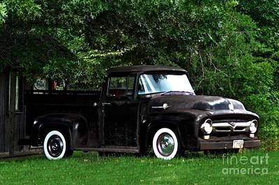 Photograph - Ol' Chevy by Eric Liller