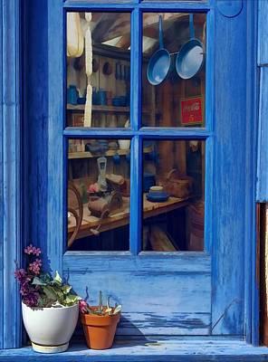 Ol' Country Store Window Art Print