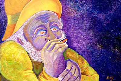 Painting - Ol Man by Kenji Lauren Tanner