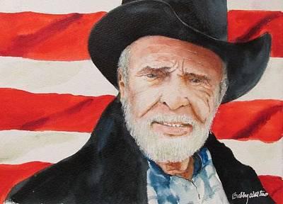 Painting - Ol Merle by Bobby Walters