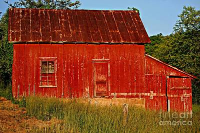 Photograph - Ol' Red Barn by Eric Liller