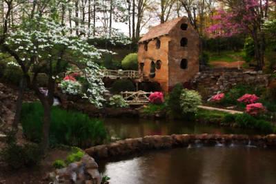 Painting - Ol' Water Mill by Jonas Wingfield