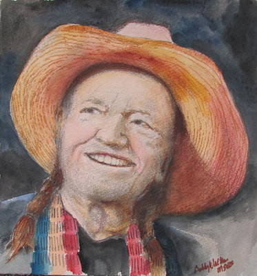 Painting - Ol Willie by Bobby Walters