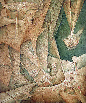 Cosmic Painting - Ol1963ny003 Mitoformas  49x60.1 by Alfredo Da Silva
