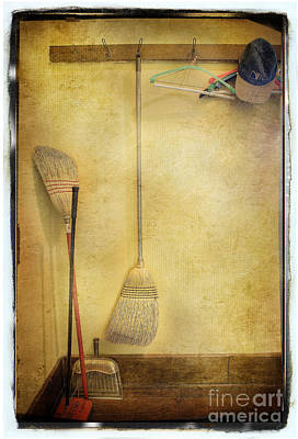 Photograph - Olaf Broom Room by Craig J Satterlee
