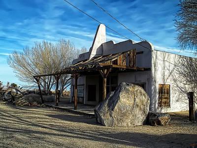 Photograph - Olancha - Airflite Cafe by Glenn McCarthy