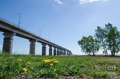 Photograph - Oland Bridge At Spring by Kennerth and Birgitta Kullman