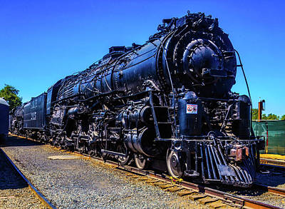 Photograph - Old 2925 Train by Garry Gay