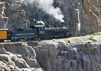 Photograph - Old 482 Chugging To Silverton by Jack Pumphrey