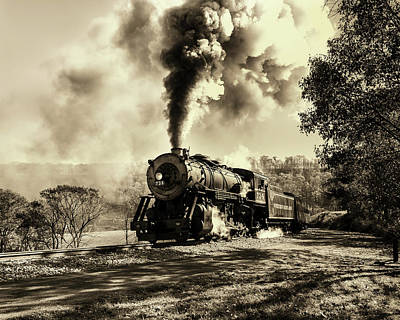 Photograph - Old #734 by Richard Macquade