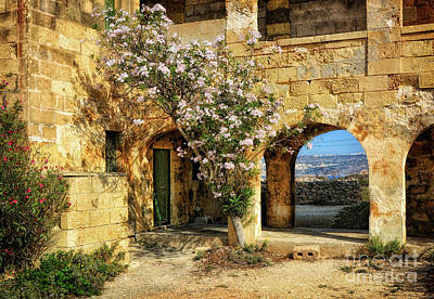 Old Abandoned Hospital In Comino Art Print by Stephan Grixti