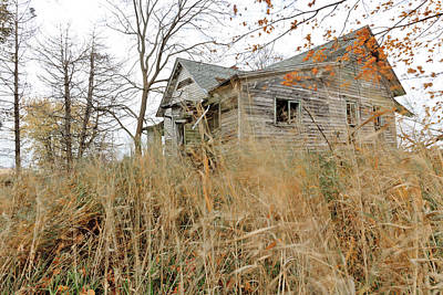 Photograph - Old Abandoned House by Ben Graham