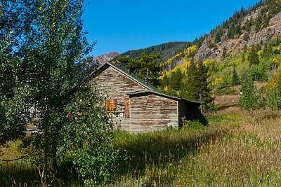 Photograph - Old Abandoned House Near Moffat Tunnel by Cascade Colors