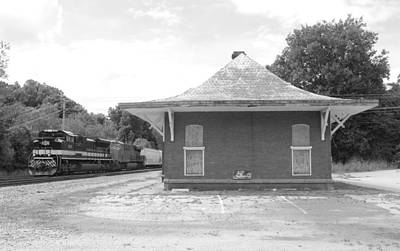 Photograph - Old Abbeville Depot 1 by Joseph C Hinson Photography