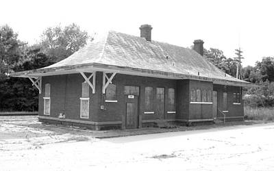 Photograph - Old Abbeville Depot 2 by Joseph C Hinson Photography