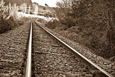 Print featuring the photograph Old Abundant Railway by Yurix Sardinelly