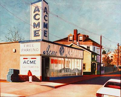 Painting - Old Acme Lambertville Nj by Robert Henne