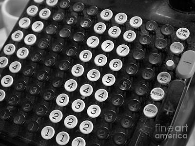 Old Adding Machine Original by Arni Katz
