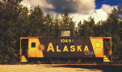 Photograph - Old Alaskan Caboose by Library Of Congress