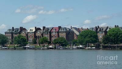 Photograph - Old Alexandria Harbor Va by Margie Avellino