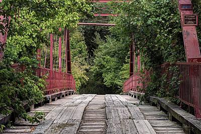 Photograph - Old Alton Bridge by JC Findley