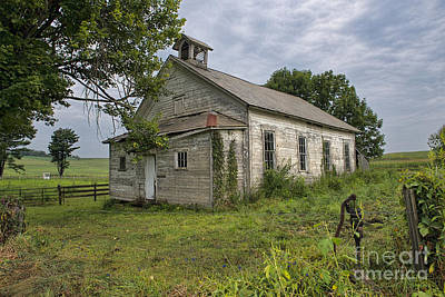 Old Amish School House Art Print by David Arment